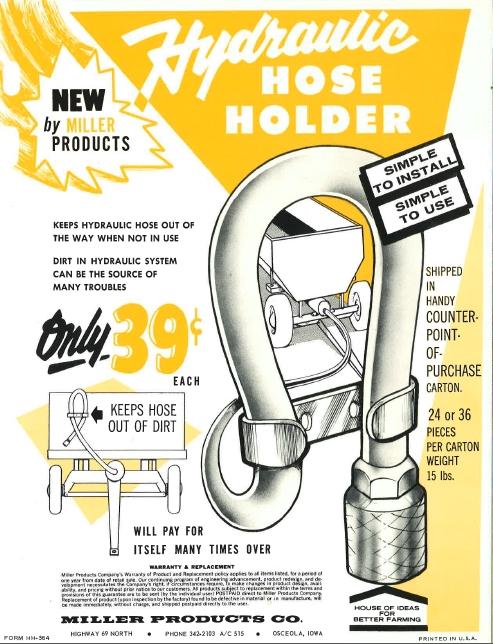 Hydraulic Hose Holder
