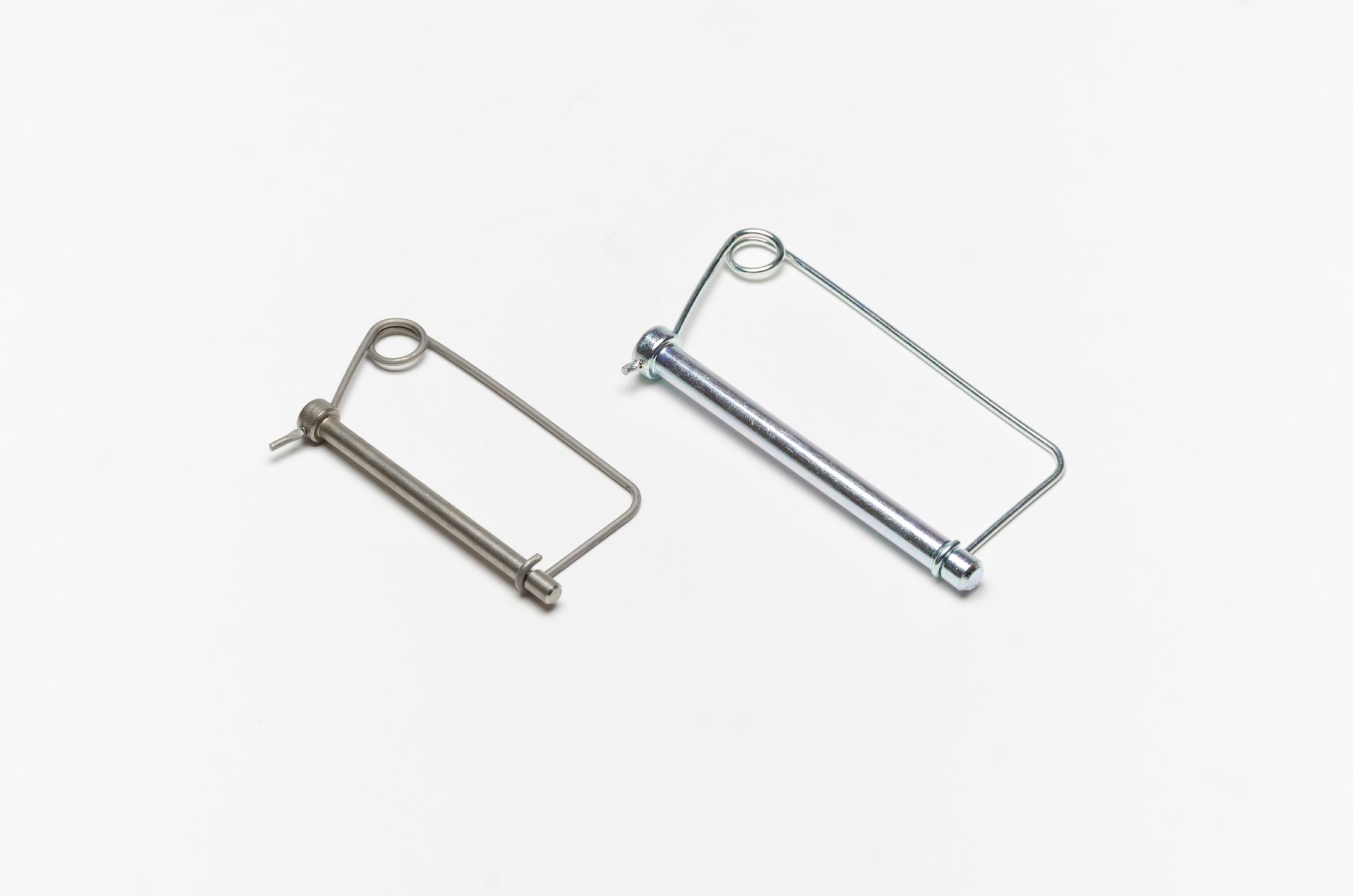 FABORY U39683.025.0175 Safety Pin,Snap,Zinc,1//4x1-3//4 L
