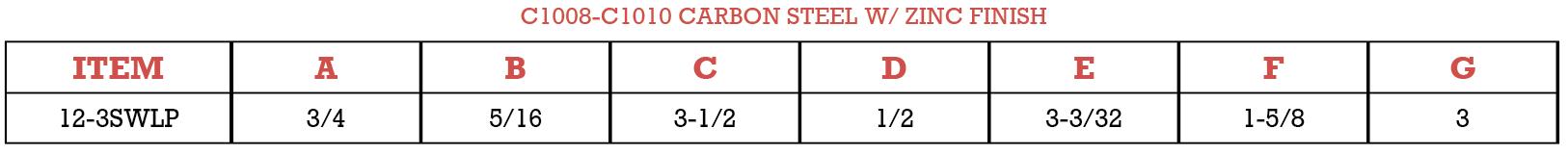 single wire lock pin-carobon stainless steel